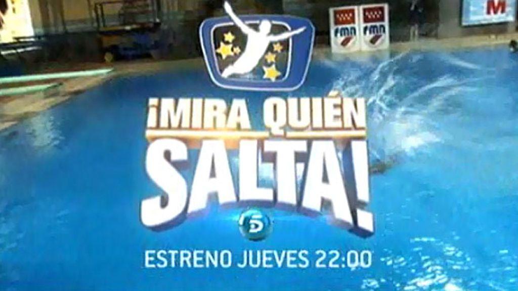 '¡Mira quién salta!', estreno el jueves a las 22:00h., en Telecinco