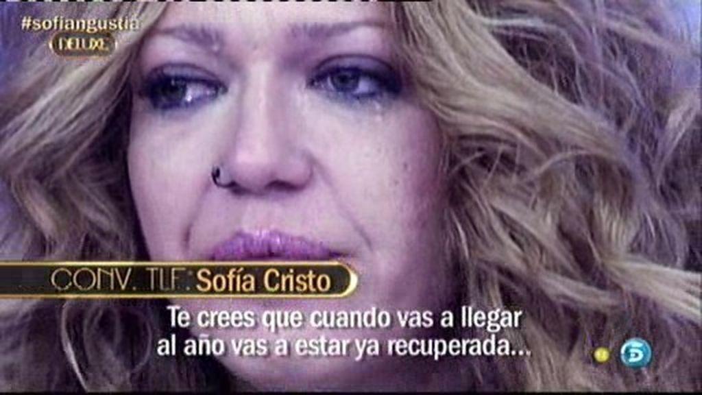 """Sofía Cristo: """"Aún estoy débil y vulnerable"""""""