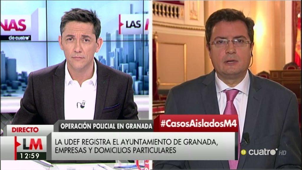 La entrevista de Óscar López, portavoz del PSOE en el Senado, a la carta