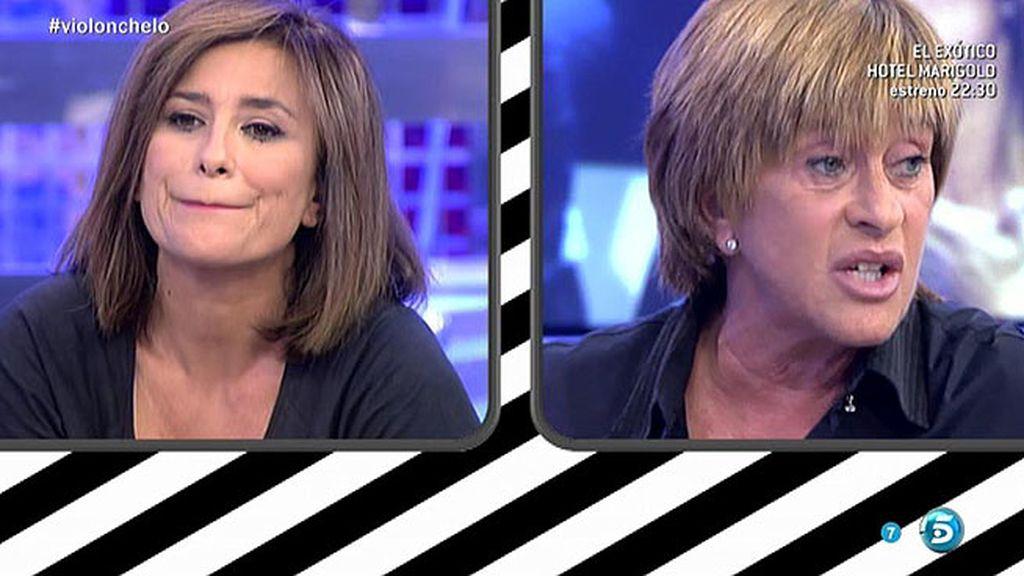"""Gema, a Chelo: """"Tú has dicho que no confías en nadie, incluidas María Patiño y yo"""""""