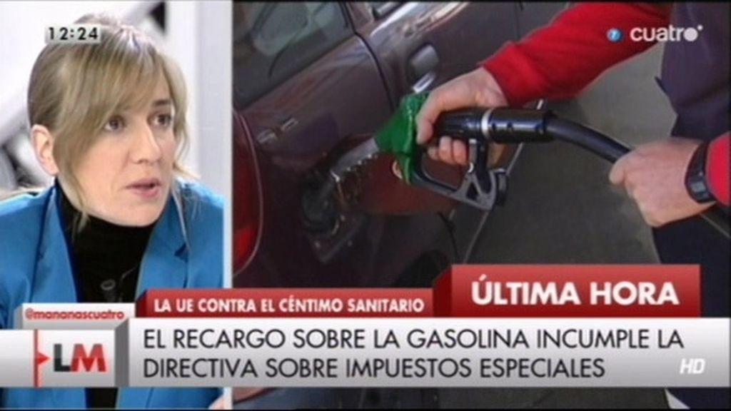 """Tania Sánchez: """"Nos sometemos a la Troika, pero no hacemos caso a la justicia europea"""""""
