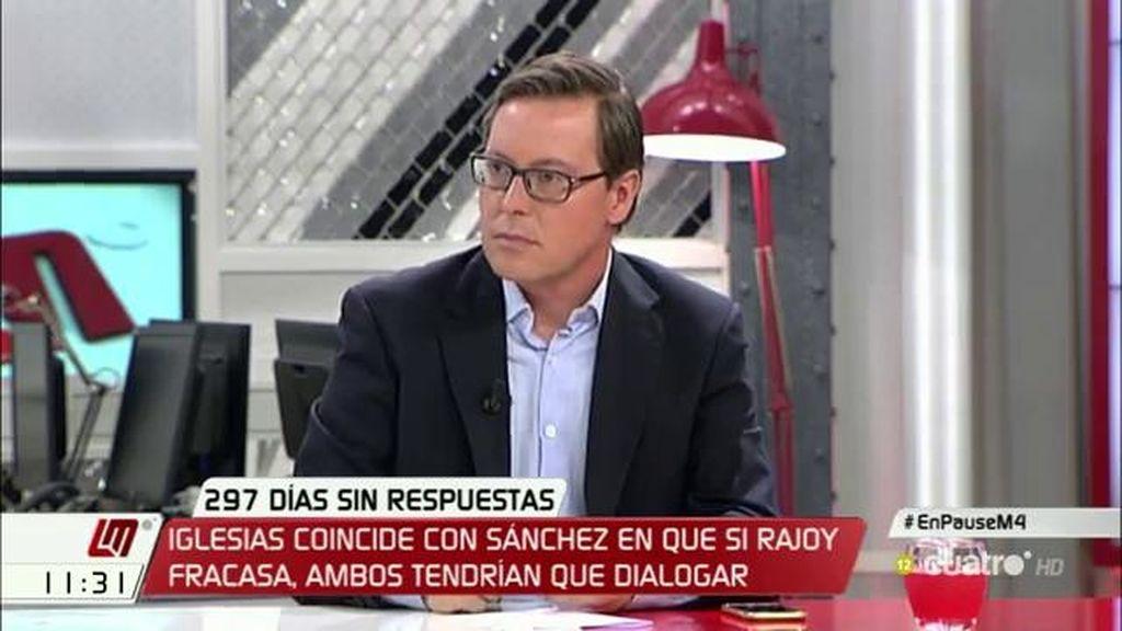 """Alfonso Serrano (PP): """"El comité fue más allá de esas condiciones, se le dio el aval para iniciar las negociaciones con C's"""""""