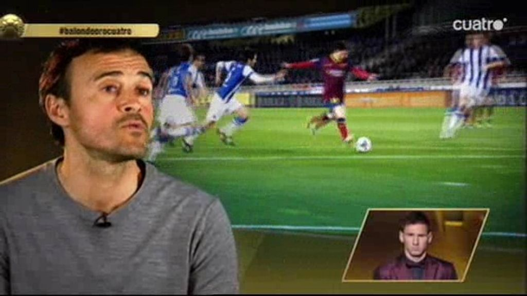 """Luis Enrique envía su apoyo a Messi: """"Te deseo lo mejor en tu carrera"""""""