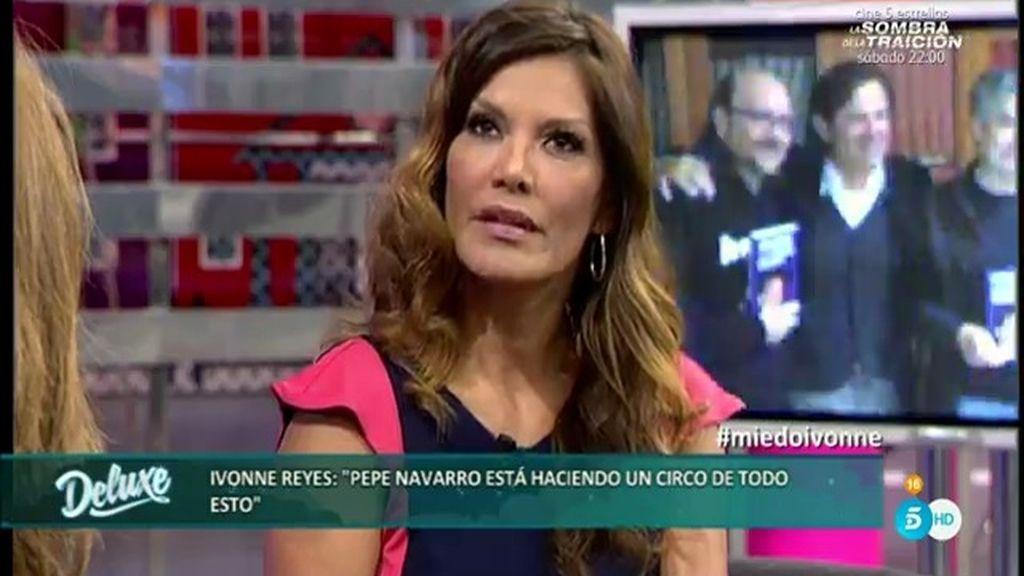 """Ivonne: """"Cené con Pepe Navarro dos veces y mostró interés en mí como mujer"""""""