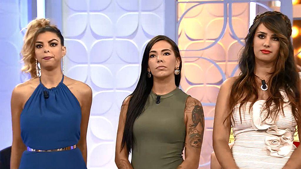 Angy, Iratxe y Thais, ¿quién será la nueva tronista de 'Mujeres y hombres'?