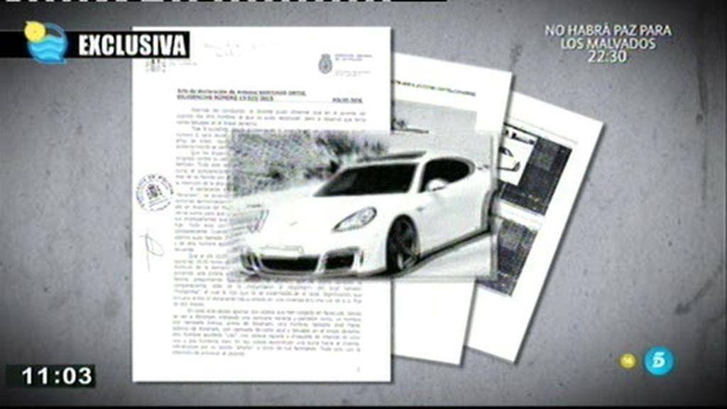 Un Porsche Panamera, clave en la investigación del tiroteo del Puche