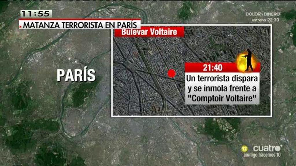Tres equipos coordinados, así fueron los ataques terroristas en París