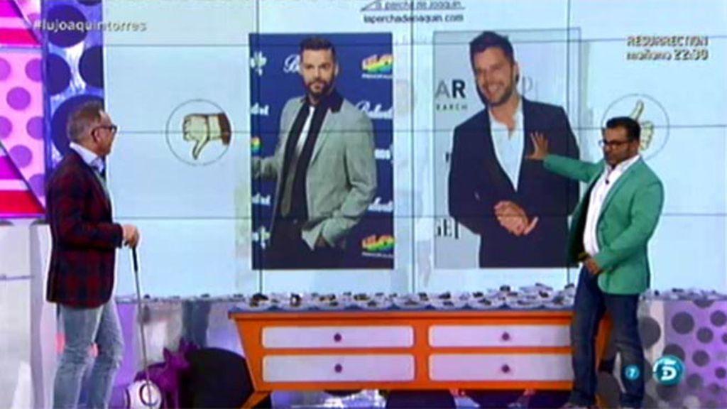 """J.J. Vázquez: """"Ay, ay, no se puede estar más bueno que Ricky Martin"""""""