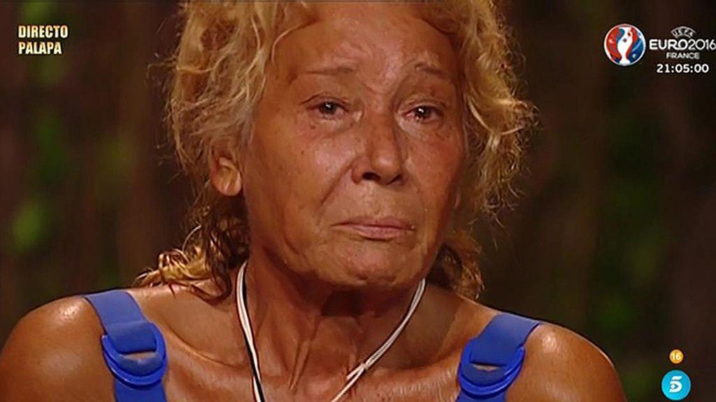 """Mila Ximénez: """"Esto se ha convertido en un puto infierno, me quiero ir"""""""