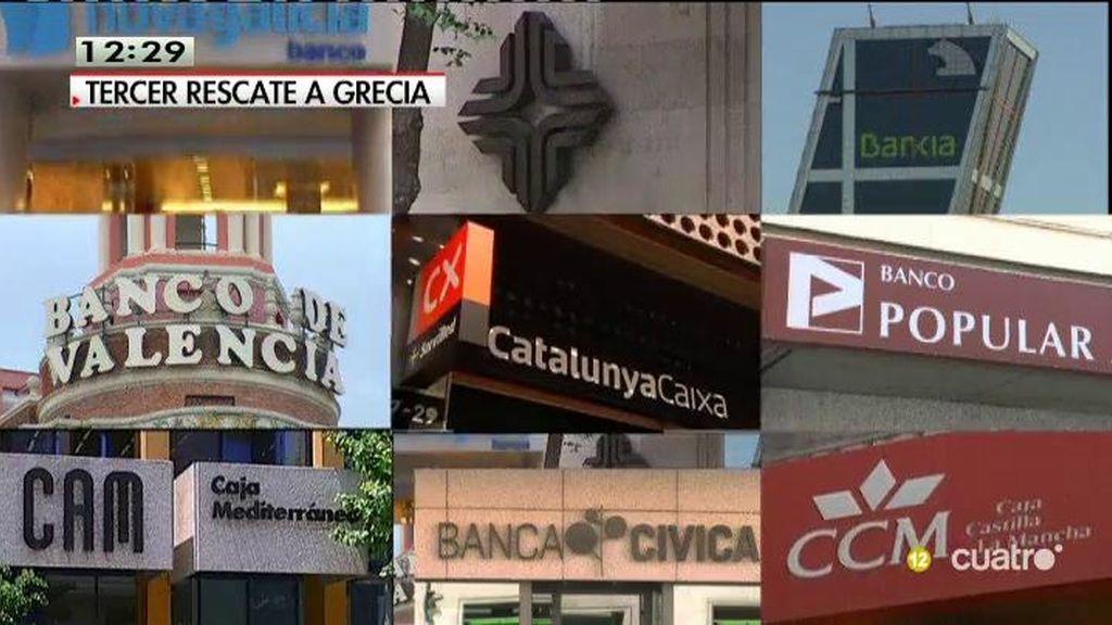 ¿Por qué pasa por el Congreso el rescate de Grecia y no el de la banca española?