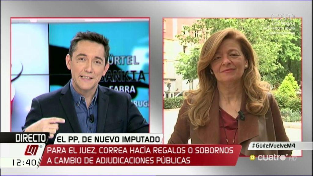 "Ana Garrido: ""Allí se compraron trituradoras a mansalva para hacer desaparecer los expedientes"""