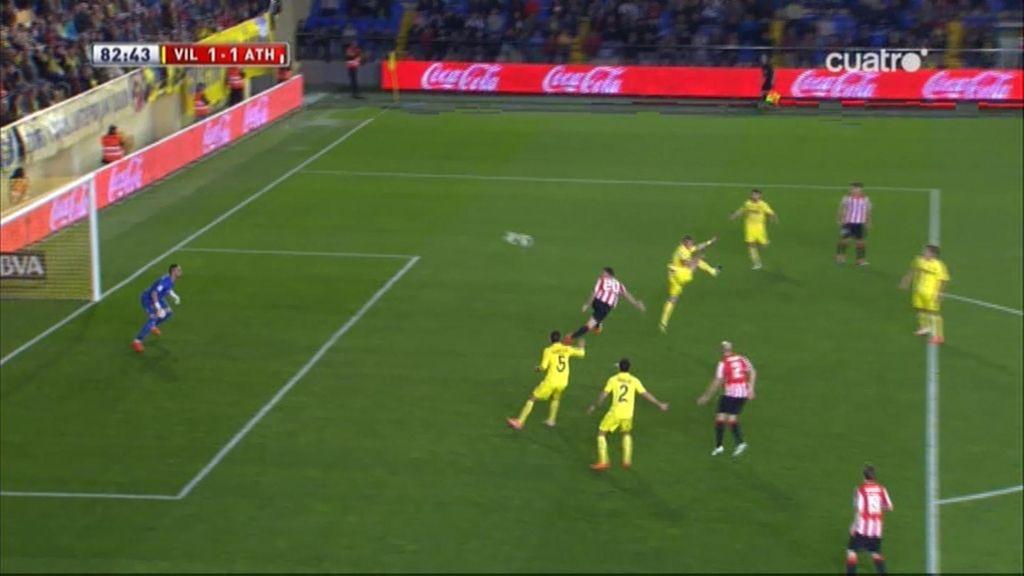 Gol de Aduriz (Villarreal 1-1 Athletic)