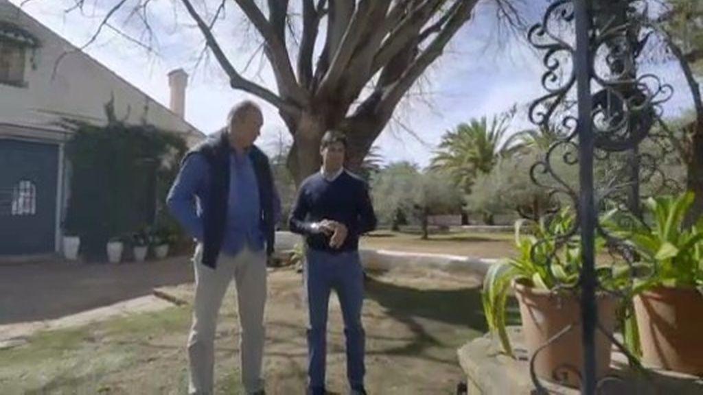 Fran Rivera descubre los secretos de su casa donde yacen las cenizas de Orson Welles