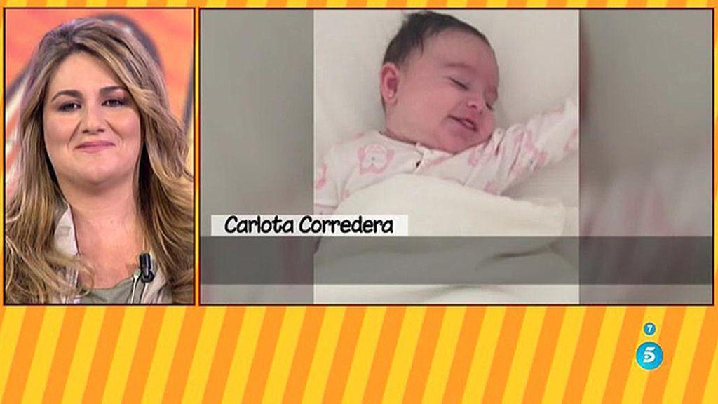Las imágenes más tiernas de Alba, la hija de Carlota Corredera