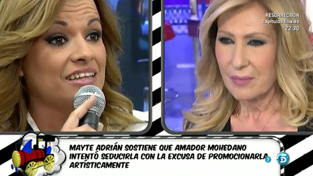 "Rosa Benito, a Mayte Adrián: ""Vergüenza me das como mujer"""