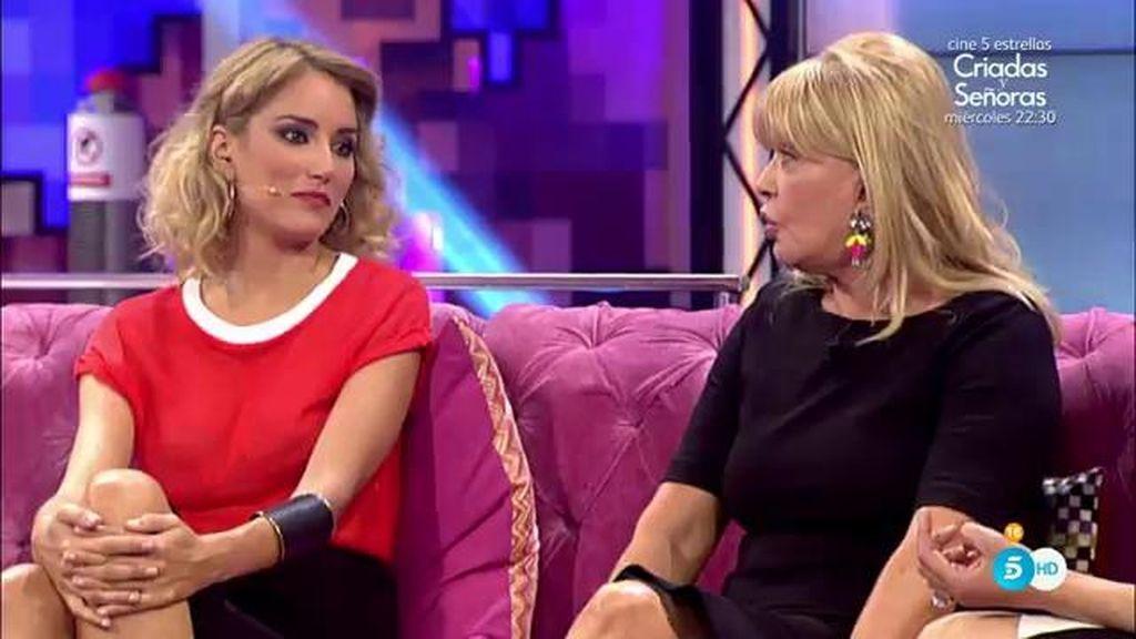 El enfado de Alba Carrillo con Bárbara Rey termina con la presentadora llorando