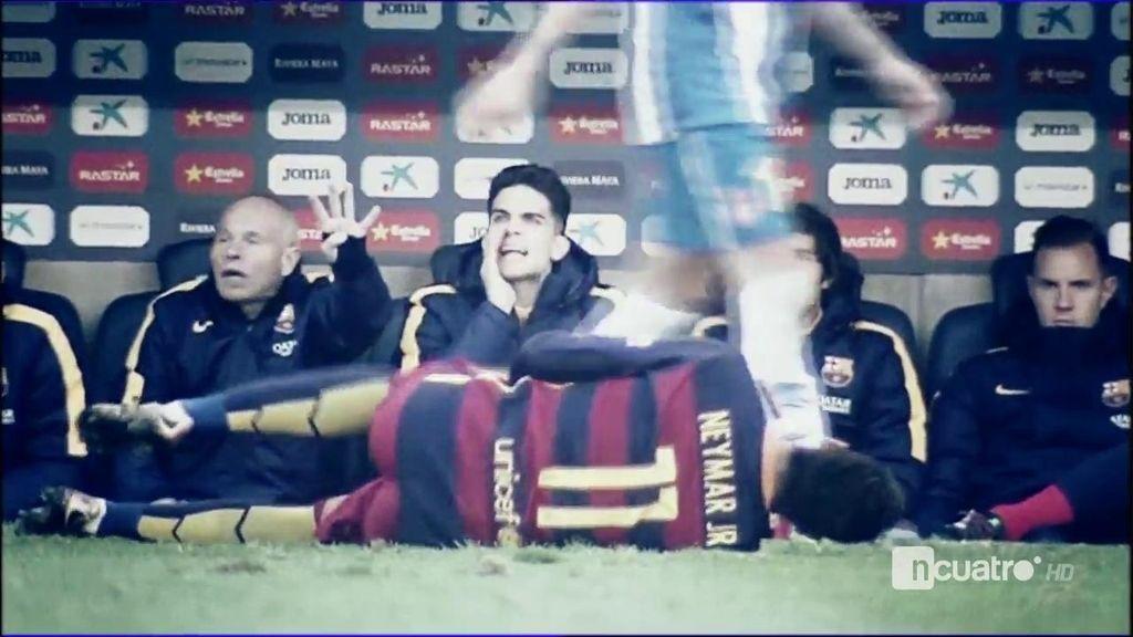 Así fue el juego duro del que se quejó el Barcelona