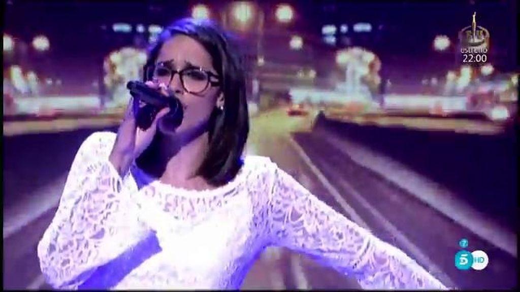 Lucía Parreño estrena su nuevo single 'Nunca te dejaré' en 'Sálvame'
