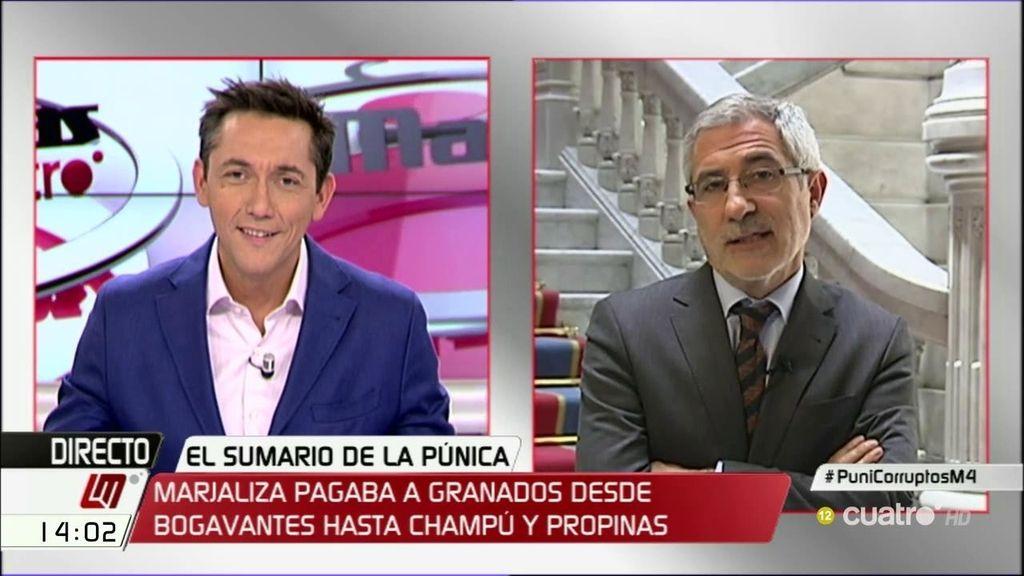 La entrevista de Gaspar Llamazares, a la cara