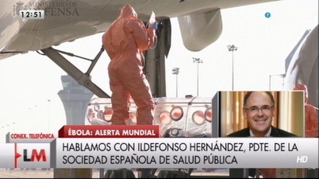 """Ildefonso Hernández: """"España tienen que tener una unidad especializada en enfermedades infecciosas"""""""