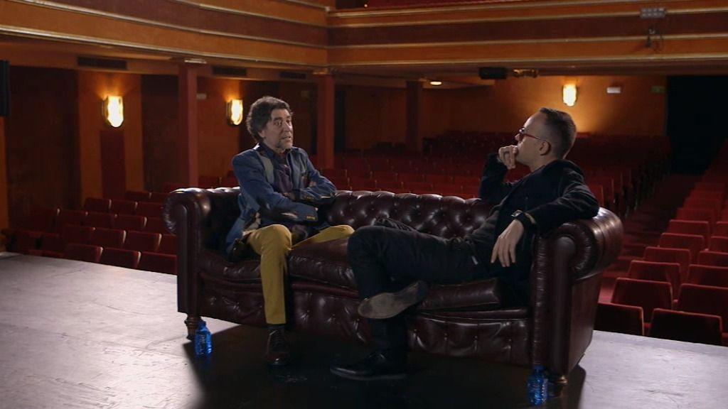"""Joaquín Sabina: """"Nunca fantaseé con ser cantante. Nunca. Vino"""""""