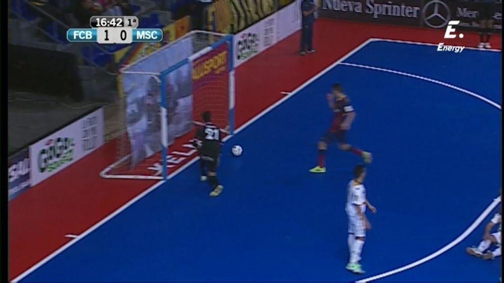 Gol de Aicardo (Barça 1-0 Marfil)