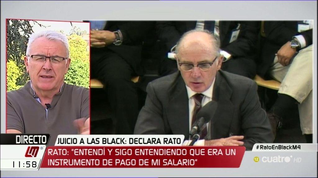 """Cayo Lara, sobre las tarjetas 'black': """"El problema no es tanto el dinero, sino el silencio que compraban"""""""