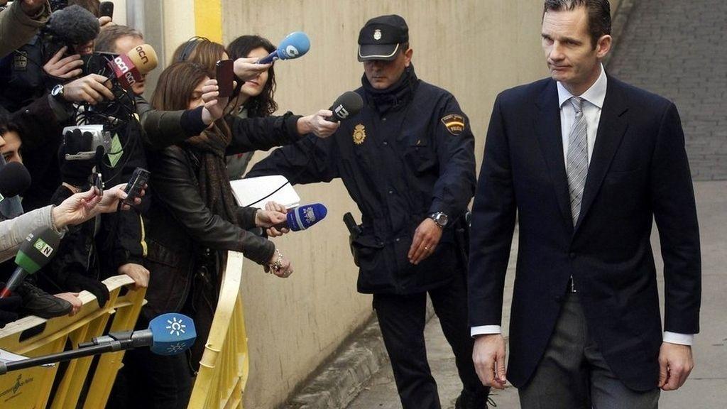 Urdangarin trasladó a Casa Real su intención de cobrar entre 1.000 y 1.500 usar la garita de seguridad