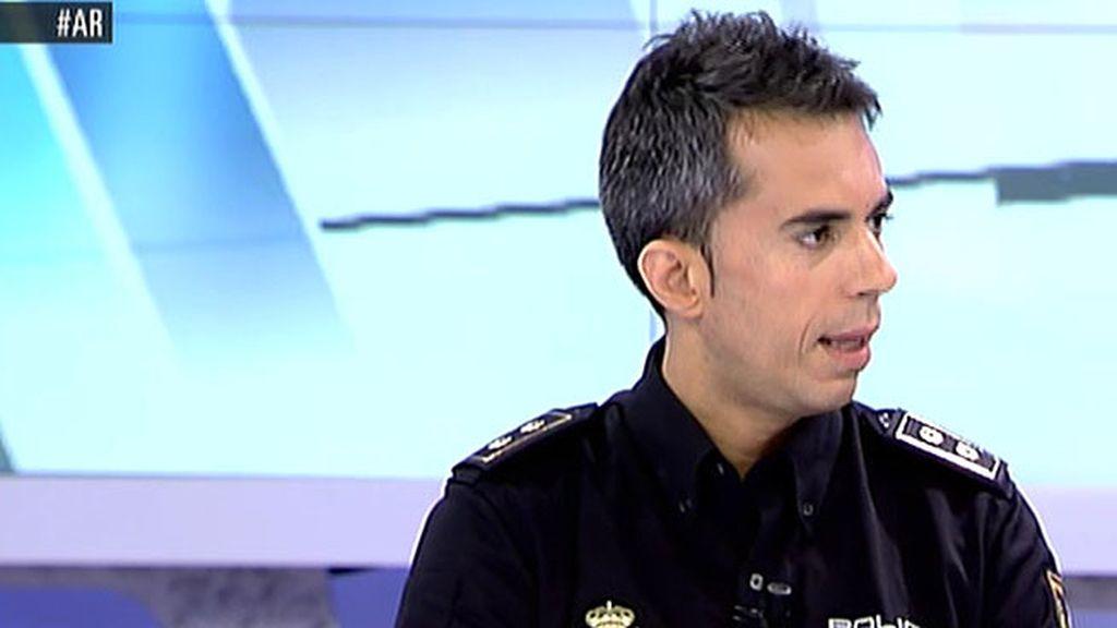 """Alberto Cabra, de la UDEV: """"La pareja de Noelia cedió sus apellidos al niño para captarla e hiciera de mula"""""""