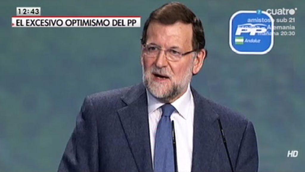"""Rajoy cree que ven la mejoría quienes miran """"sin las antiojeras de sus prejuicios"""""""