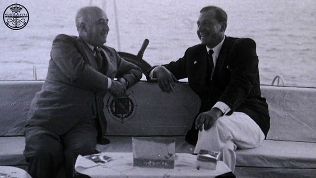 Franco, Don Juan y el pacto en el barco Azor