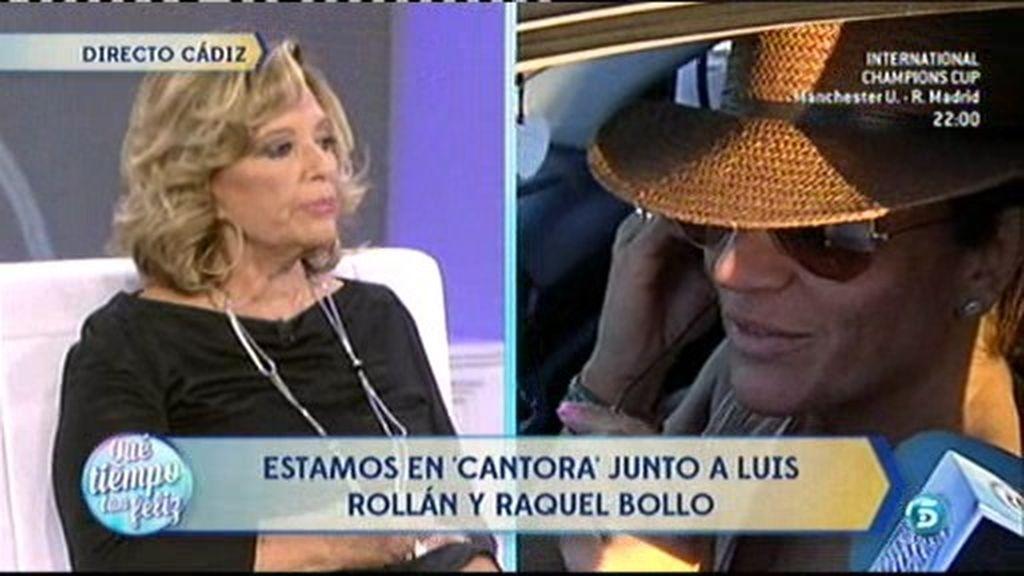 """Raquel Bollo: """"Es un día importante para Isabel porque reúne a la gente que quiere"""""""