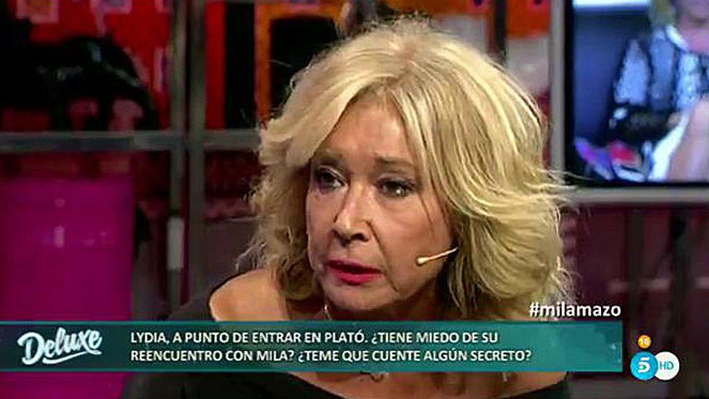 """Mila, muy enfadada: """"Cuando Nagore ladraba, Lydia Lozano movía el rabito"""""""
