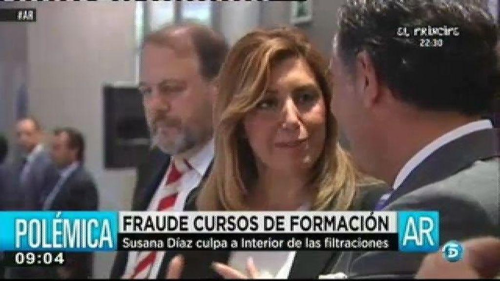 """Susana Díaz, sobre el fraude de los cursos: """"Si alguien ha actuado mal lo va a pagar"""""""