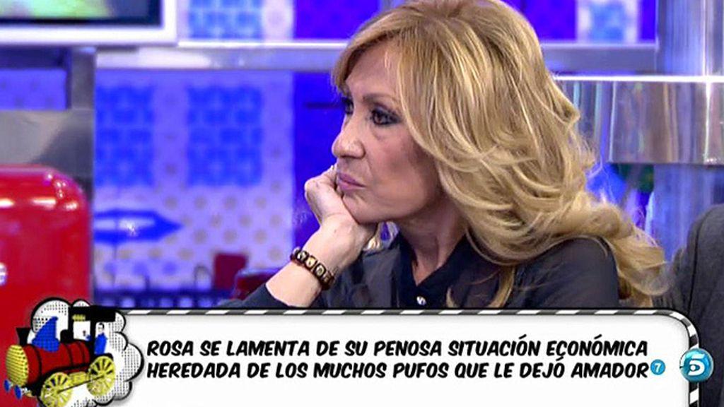 Rosa Benito se enfrenta a sus compañeros para que no se hable de sus hijos