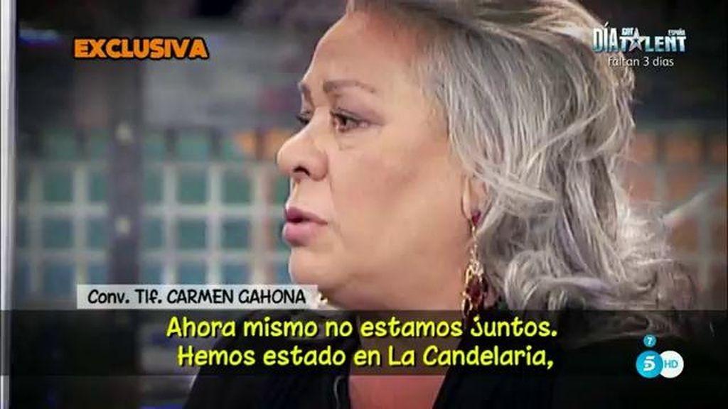 """Carmen Gahona, de su ruputura con Chiquetete: """"Ya no hay vuelta atrás"""""""