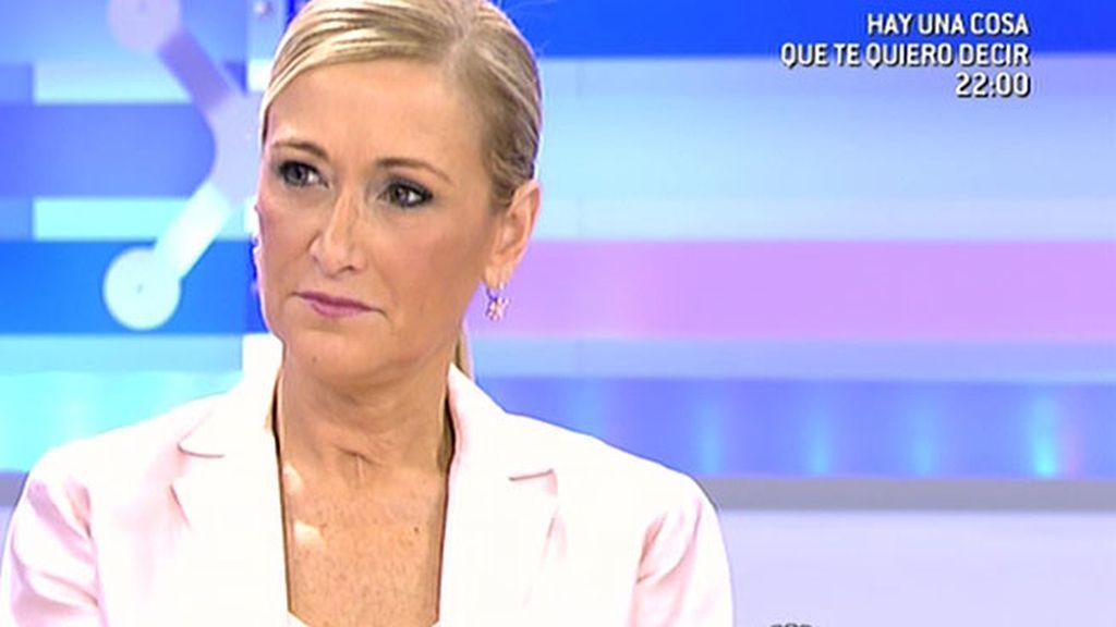 """Cristina Cifuentes: """"Mas tendrá que flexibilizar su posición"""""""