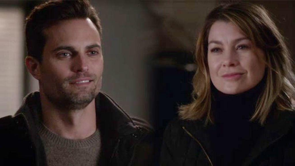Will Thorpe no se rinde con Meredith... ¿conseguirá el sí de la cirujana?