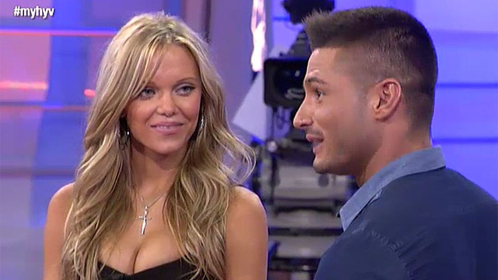 Luisa deja a Ángel impresionado