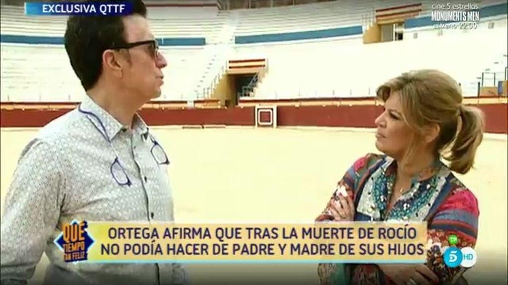 José Ortega Cano pide perdón a MªTeresa y a Terelu por las palabras de su hija