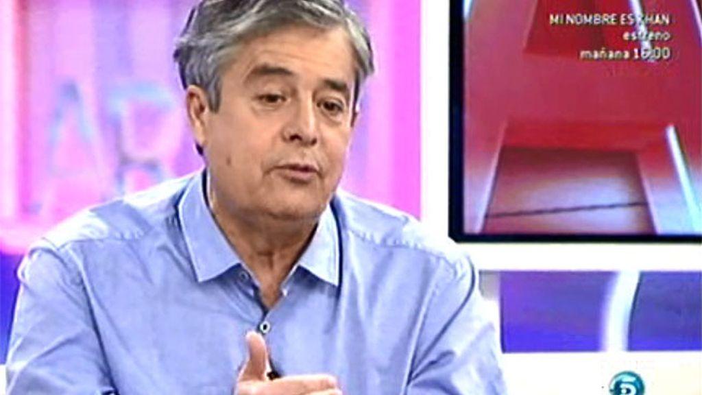 """Carlos Iglesias: """"En este país cada cierto tiempo emigramos, nos duran pocos las vacas gordas"""""""