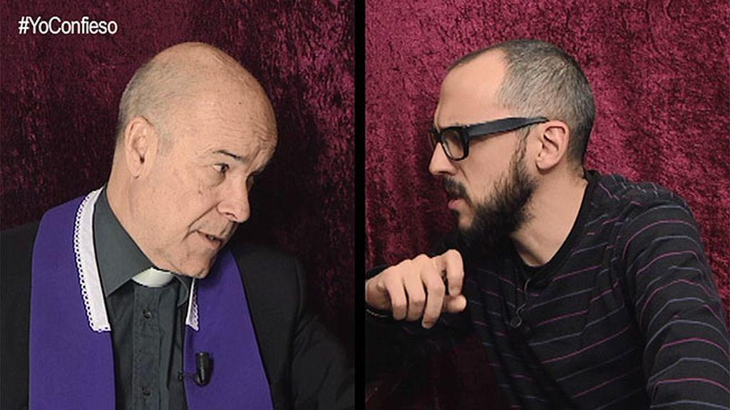 """Menottinto se confiesa con el padre Ángel: """"He dudado de Simeone"""""""