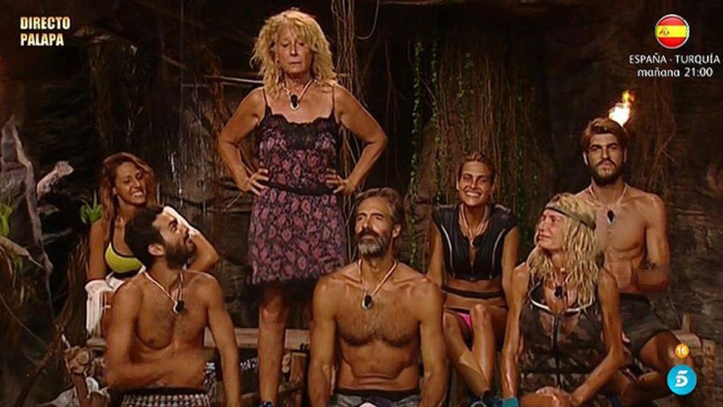 "Jorge Javier, a Mila Ximénez: ""¿Venías a la Palapa o al Marbella Club?"""
