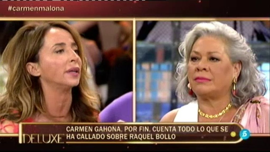 """María Patiño, a Carmen Gahona: """"Raquel me ha decepcionado personalmente"""""""