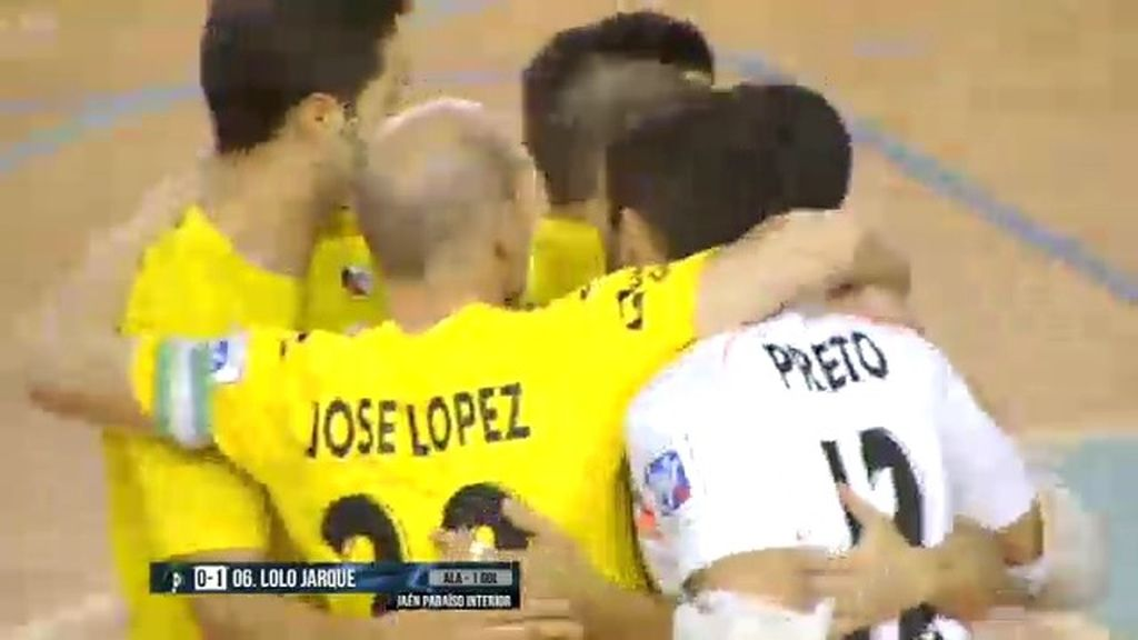Victoria por la mínima del Jaén Paraíso Interior sobre el Azkar Lugo (1-0)