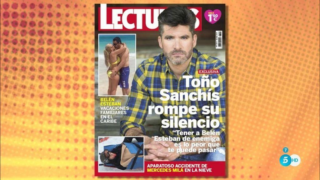"""Sanchís, en Lecturas: """"Tener a Belén Esteban de enemiga es lo peor que te puede pasar"""""""