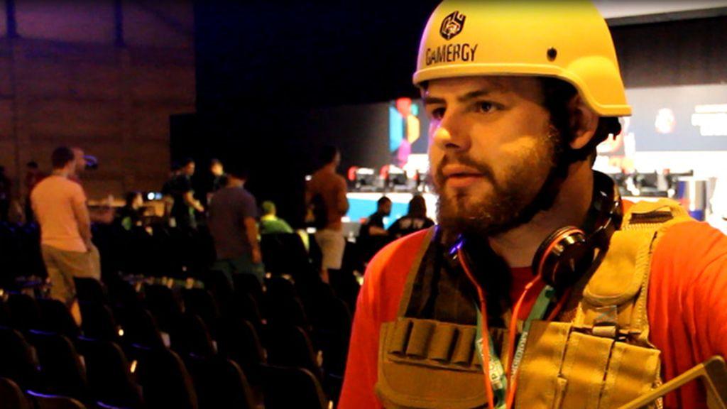 Mario, voluntario en Gamergy, nos cuenta el día a día del evento vestido de CoD