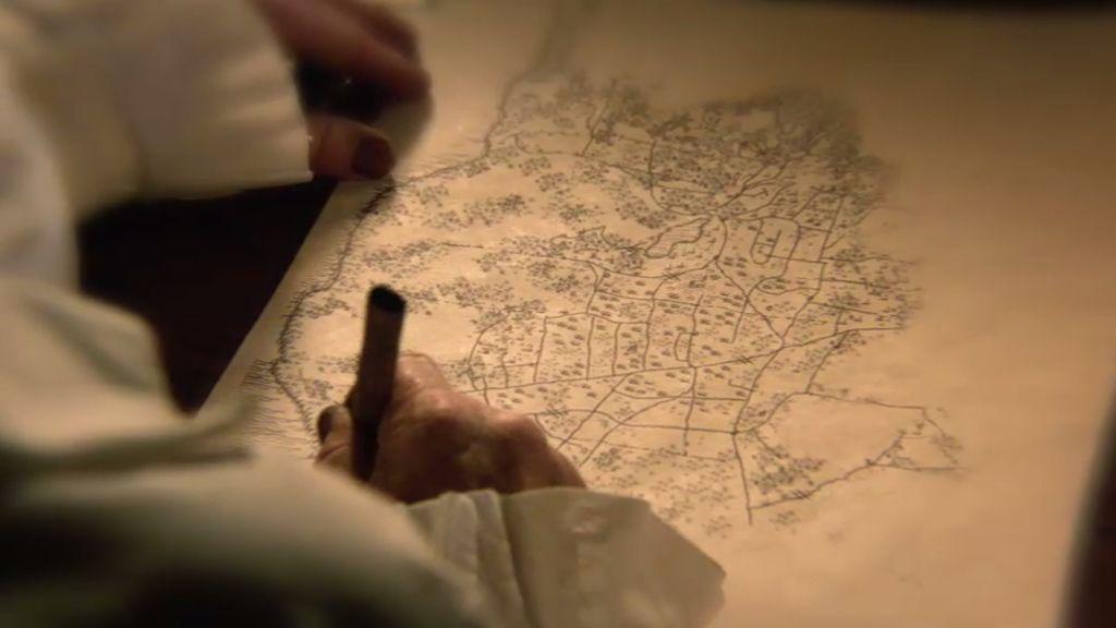 Ichabod y Abbie descubren un oscuro secreto en la Biblia de George Washington