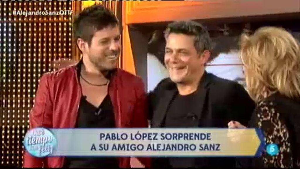 Pablo López versiona 'Desde cuándo' para sorprender a Alejandro Sanz