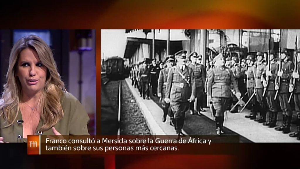 Franco consultaba a la bruja Mersida sobre decisiones políticas y masonería